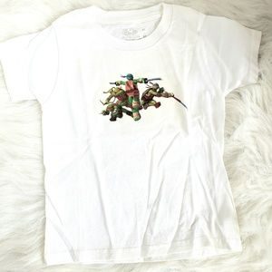 Boys tmnt ninja Turtles shirts 2/3t